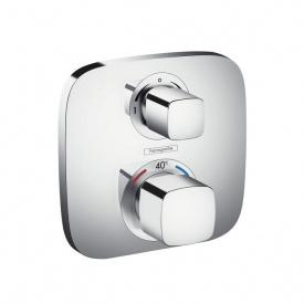 ECOSTAT E термостат с запорным/ переключающим вентилем