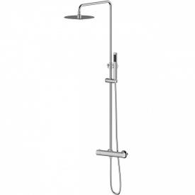система душеваясмеситель-термостат CENTRUM для душа верхний и ручной душ 1 режим шланг