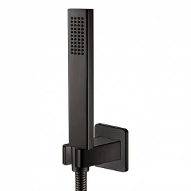 GRAFIKY набор душевой ручной душ 1 режим шланг держатель