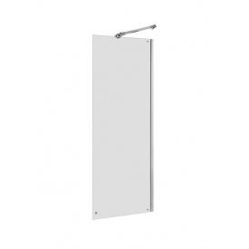 CAPITAL стенка душевая 90x195 см алюминиевый хром профиль