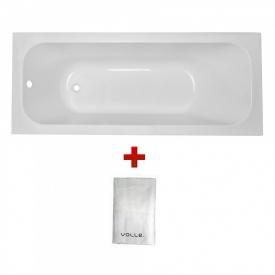Комплект ALTEA ванна 170x70 см без ножек + Полотенце махровое Volle