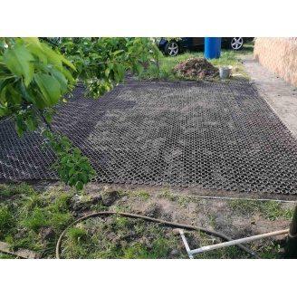 Газонна плитка Георешітка 710х710х32 мм
