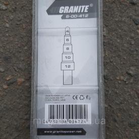 Сверло ступенчатое 4-12 мм Granite