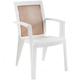 Кресло Papatya SAPPHIRE БЕЛОЕ