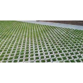 Тротуарная плитка Еко брусчатка серая 10 см