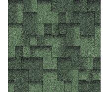 Бітумна черепиця Aquaizol Акцент 320х1000 мм зелений еко