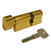 Цилиндр замка ABUS КD6 ключ-тумблер 90 мм 50х40т латунь 5 ключей