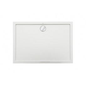 AERON піддон 1200x900x35 мм з мистецтв каменю STONEX прямокутний з трапом сифоном в комплекті колір білий