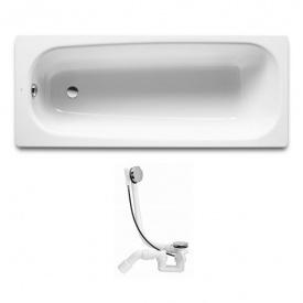Комплект CONTINENTAL ванна 170х70см + VIEGA SIMPLEX сифон для ванни автомат (285357)