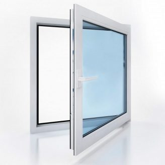 Окно металлопластиковое Vikonda энергосберегающий стеклопакет 570x570 мм