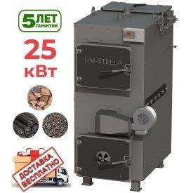 Пиролизный котел 25 кВт DM-STELLA