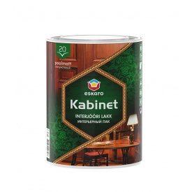 Лак Eskaro Kabinet 20 интерьерный 0,95 л