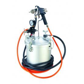Бак нагнетательный пневматический 8 л с краскопультом AUARITA PT-8-2.0
