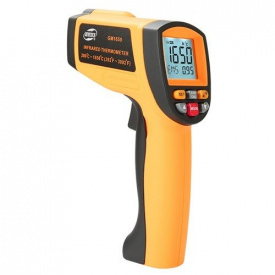 Пірометр професійний 200-1650 градусів Цельсія BENETECH GM1650