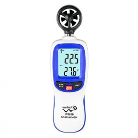 Анемометр крыльчатый Bluetooth 0,3-30 м/с -10-45°C WINTACT WT82B