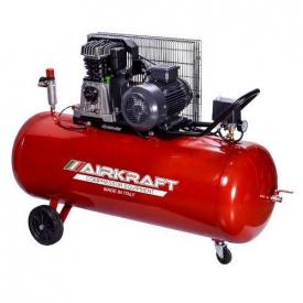 Поршневой компрессор с ременным приводом 200 л 510л/мин 380В 3кВт AIRKRAFT AK200-510-380