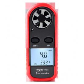 Анемометр цифровой 0,1-30 м/с -10-45°C WINTACT WT816