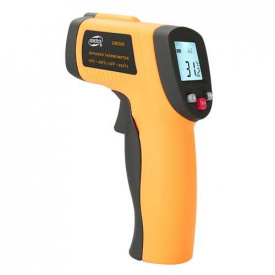 Пірометр цифровий безконтактний-50-450 градусів Цельсія BENETECH GM300
