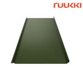 Фальцева покрівля Ruukki Classic C Pural Matt Зелена сосна (RR11)