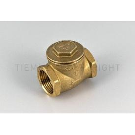 """Клапан Tiemme clapet FULL 1/2"""" резьба внутренняя/внутренняя ISO 228 с латунным затвором с уплотнительными прокладками (3500015)"""