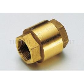 """Запорный клапан Tiemme YACHT 1/2"""" резьба внутренняя/внутренняя ISO 228 с металлическим запорным клапаном (3500030)"""