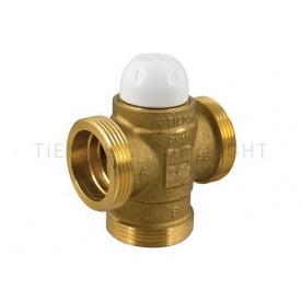 """Клапан термостатичний триходовий (DN 25) Tiemme 1""""1/4 різьба зовнішня/зовнішня (4500515)"""