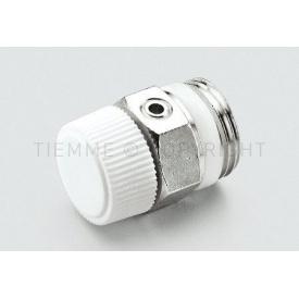 """Воздуховодные клапан для радиаторов Tiemme 1/2""""с уплотнительным кольцом (1980006)"""