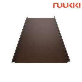 Фальцева покрівля Ruukki Classic M Polyester RM Лісовий горіх (RR32)