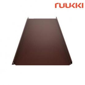 Фальцевая кровля Ruukki Classic M Polyester RM Каштан (RR887)