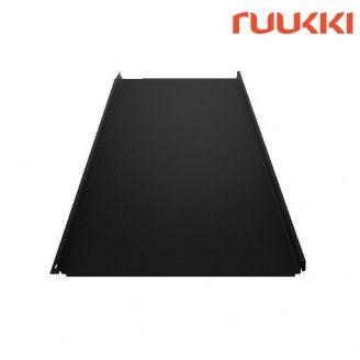 Фальцева покрівля Ruukki Classic M Polyester Нордична ніч (RR33)