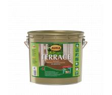 Масло для террас Aura Wood Terrace 2,7 л серый