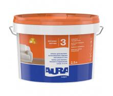 Краска Aura Lux Pro 3 матовая 2,5 л