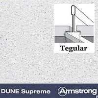 Плита DUNE Supreme Tegular 600х600х15 мм Armstrong