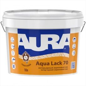 Лак Aura Aqua Lack 70 10 л