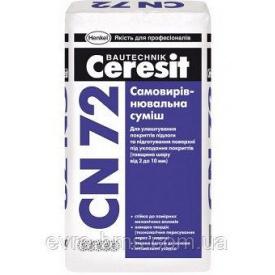 Само-выравнивающий раствор CN-72 2-10 мм CERESIT 25 кг