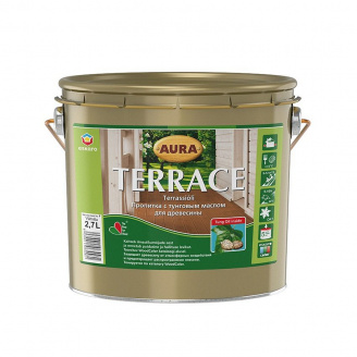 Масло для террас Aura Wood Terrace 2,7 л