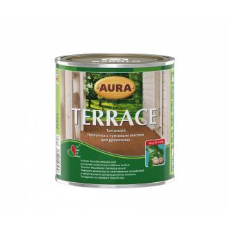 Масло для террас Aura Wood Terrace 0,9 л коричневый