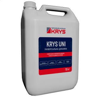 Комплексна добавка в бетон і суміш KRYS UNI