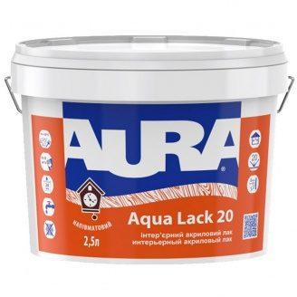 Лак Aura Aqua Lack 20 2,5 л
