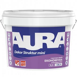 Фарба структурна Aura Dekor Struktur mini 9,5 л