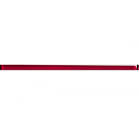 Фриз-стекло CERSANIT SAMANTA GLASS RED 15x400x8