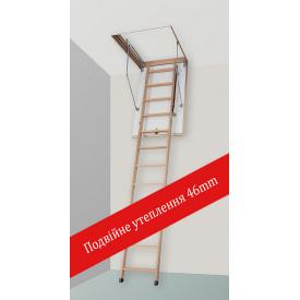 Чердачная лестница Altavilla Faggio Termo Plus 3S 130x60 (h-280)