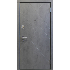 Вхідні двері Portala Комфорт Vinorit Класик металеві 850х2040 мм