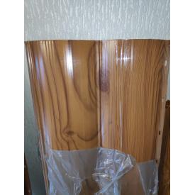 Металлосайдинг Блок-Хаус Золотой Дуб 335 мм