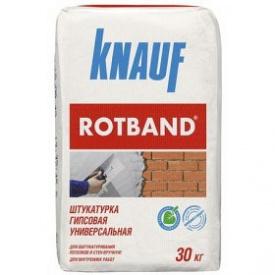 Штукатурка гипсовая универсальная KNAUF Ротбанд 30