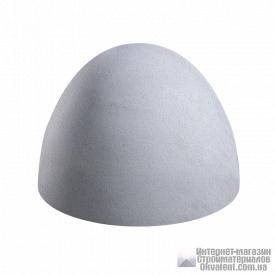 Полусфера бетонная 400х300 серый