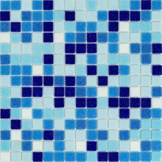 Мозаїка скляна Stella di Mare R-MOS B 113132333537 мікс 6 на сітці 327х327 мм