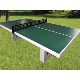 Стол теннисный бетонный СТБ 1 2740х1520х760 мм зеленый