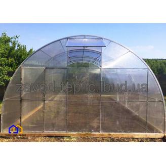 Теплиця з полікарбонатом 6 мм Слов'яночка 5х6 м