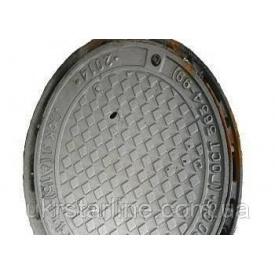 Люк каналізаційний Т з з/у С250 Київенерго чавунний